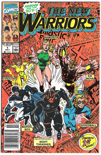 New Warriors FIRST ISSUE