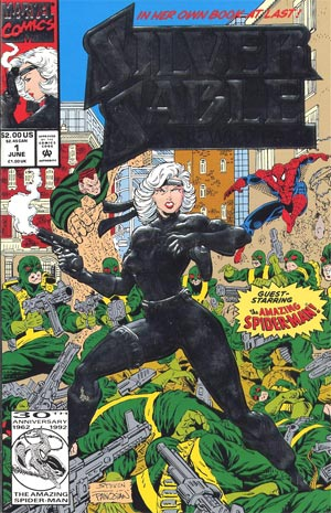 Silver Sable and Wild Pack #1